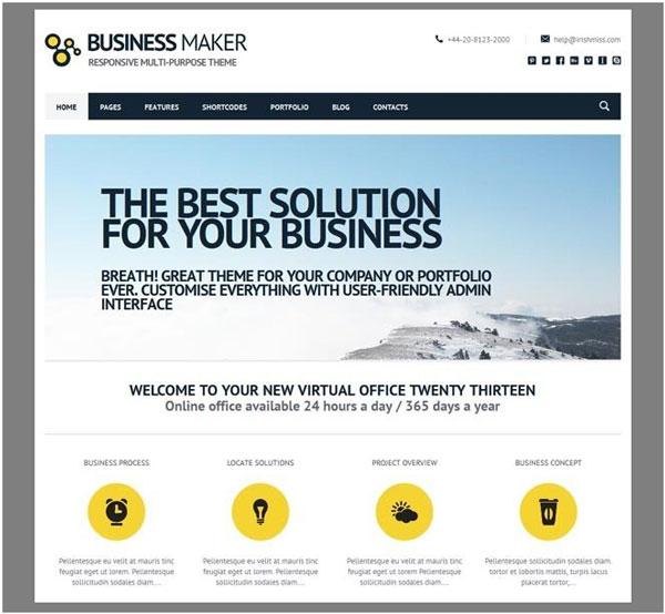 business-maker-theme