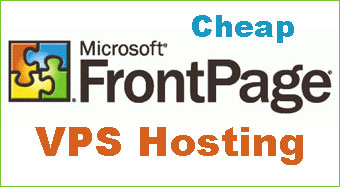 cheap Frontpage VPS