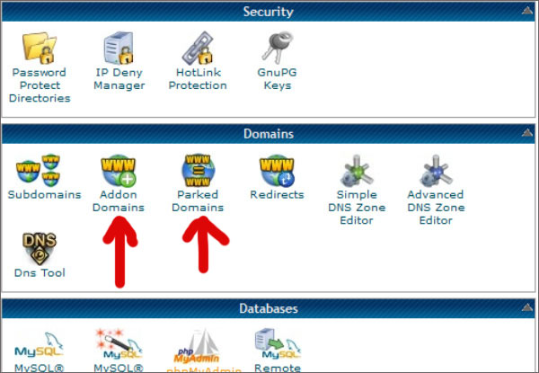 cpanel-addon-parked-domain
