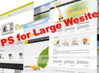 large website VPS