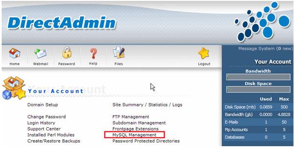 mysql-management