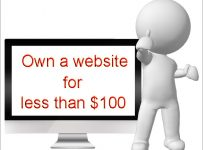 own a website