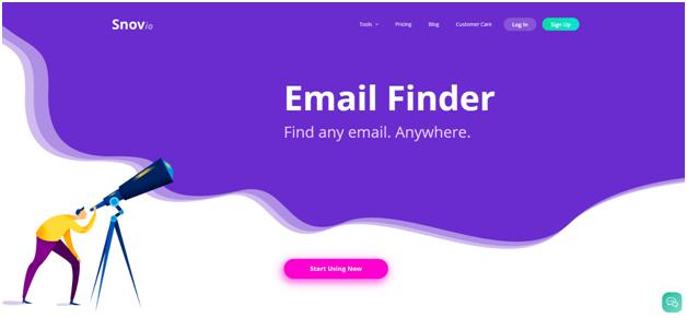 Snovio email finder